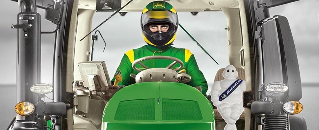 Michelin и John Deere организуют Чемпионат Европы по мастерству вождения трактора