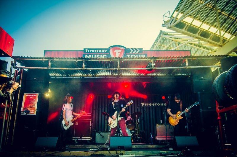 Ежегодный музыкальный тур Firestone пройдет в семи странах Европы