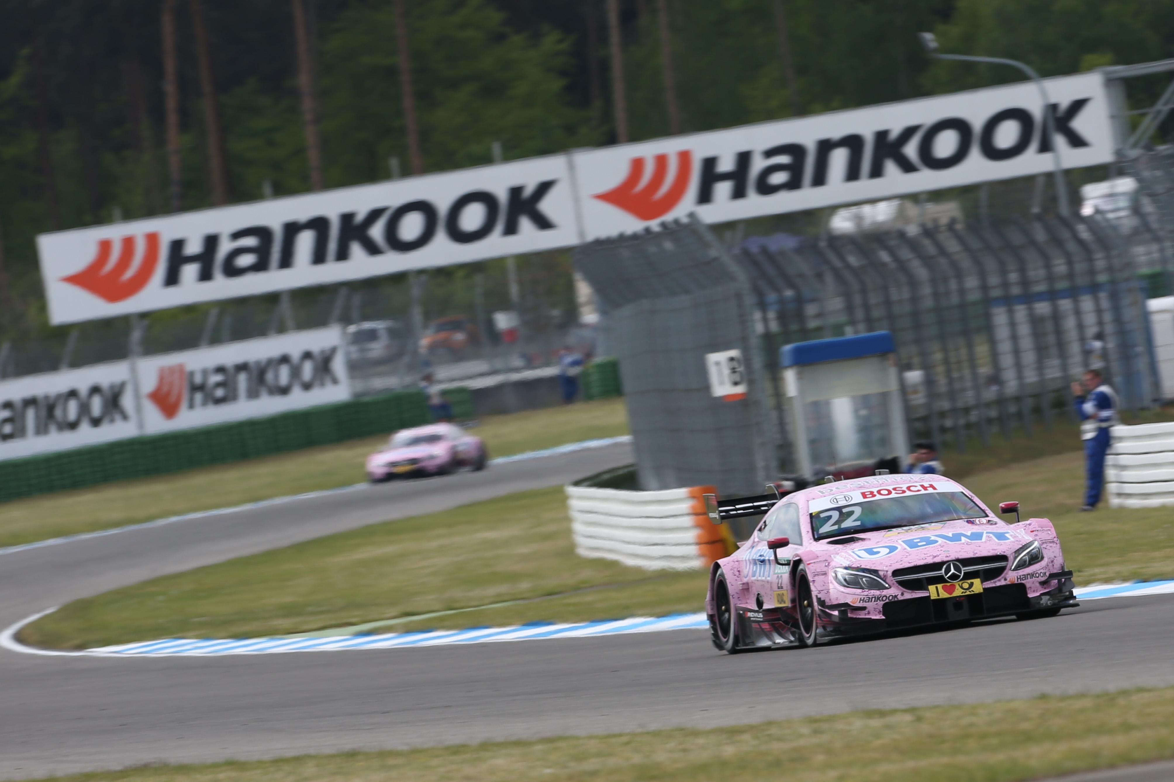 Новые слики Hankook Ventus Race дебютировали в серии DTM