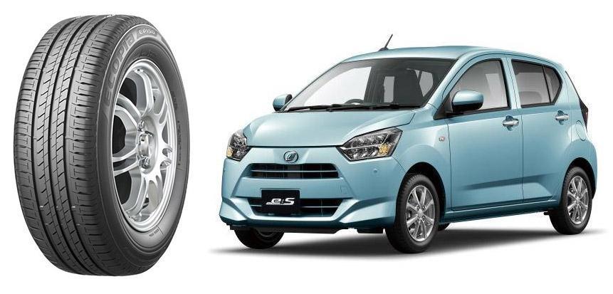 Новый кей-кар Daihatsu Mira e:S оснастят «зелеными» шинами Bridgestone Ecopia EP150