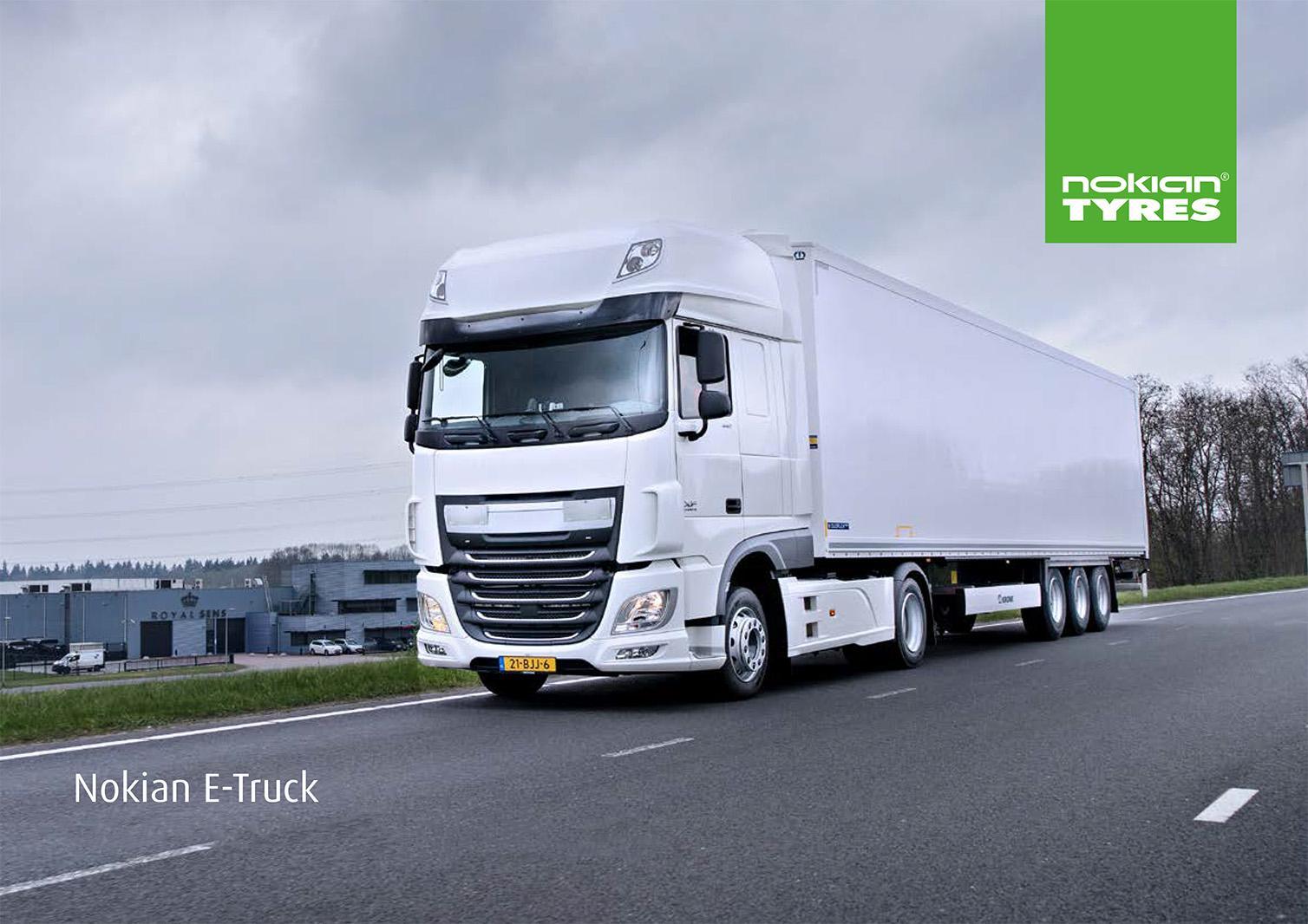 Nokian Tyres анонсировала осенний запуск новых всесезонных TBR-шин E-Truck
