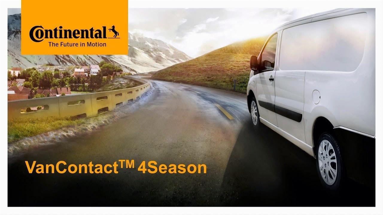Continental показала на Autopromotec 2017 новые коммерческие всесезонки
