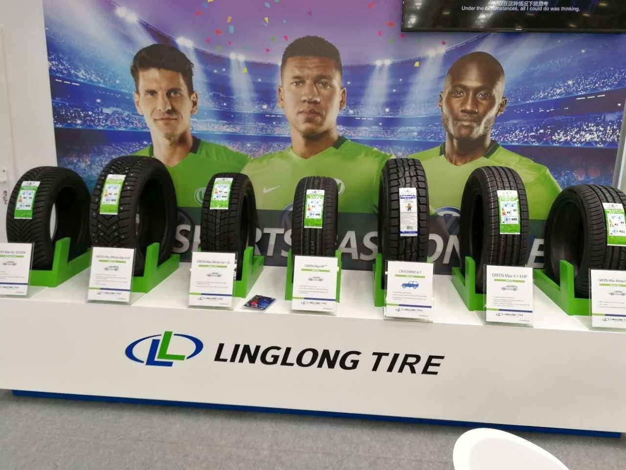UHP-шины Linglong Green-Max Acro дебютировали в Болонье