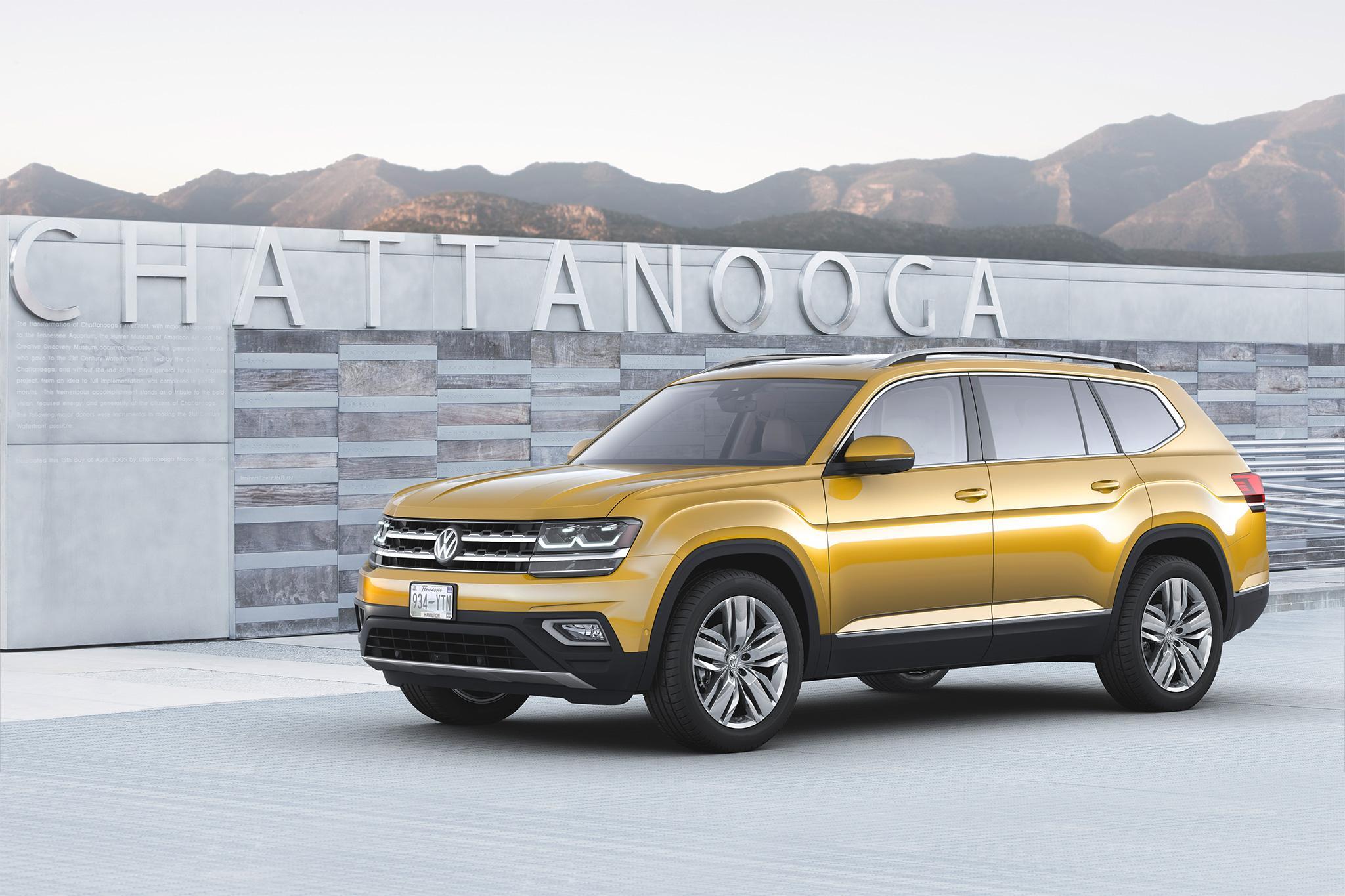 Volkswagen Atlas 2018 обуют в OE-шины от Continental