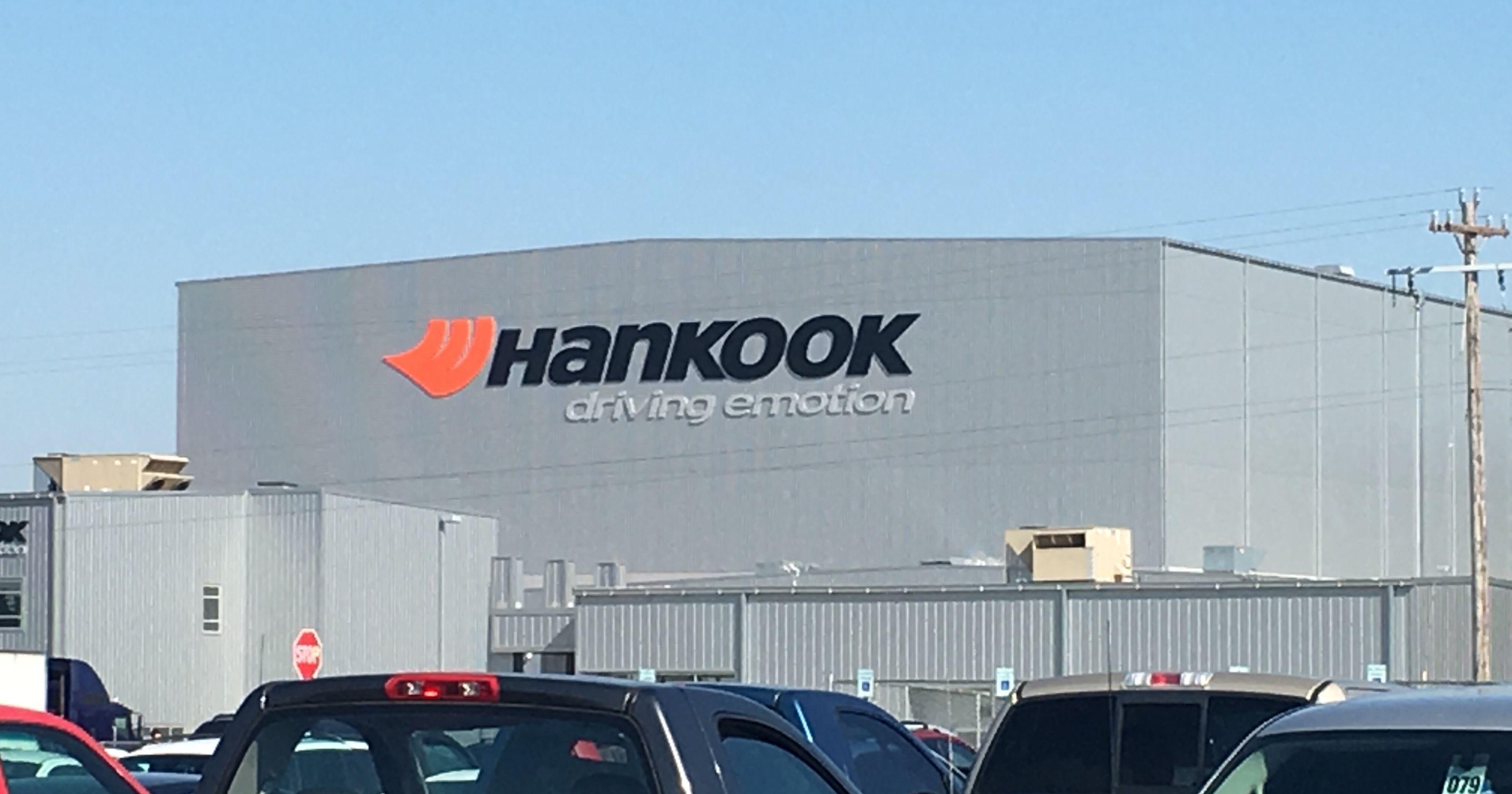 Пуск промышленного производства покрышек на заводе Hankook в США откладывается