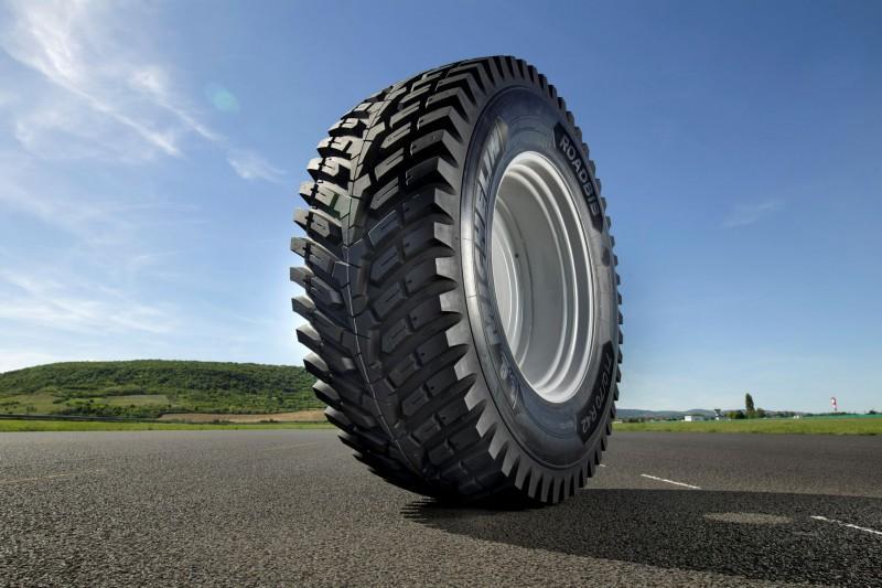 Дорожная агрошина Michelin Roadbib - новое решение для высокомощных тракторов