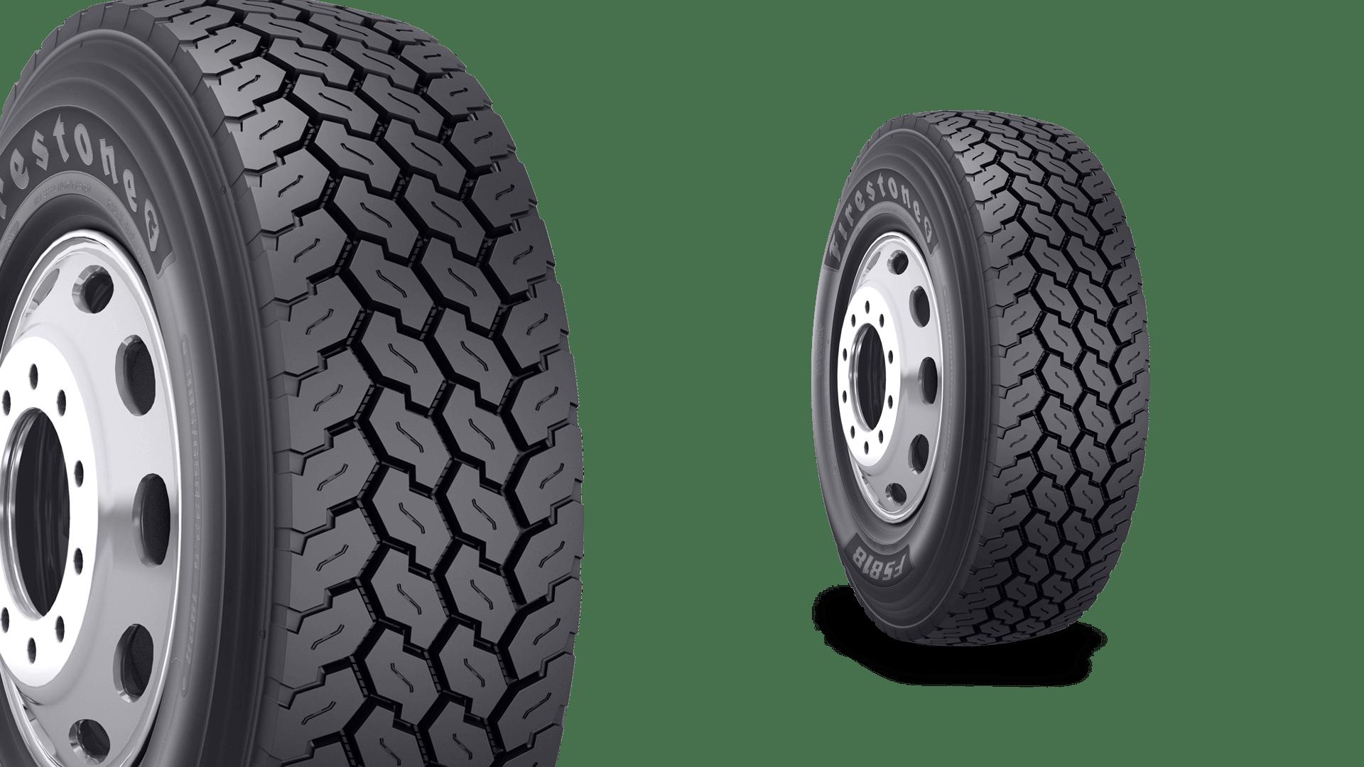 Bridgestone Americas выпускает новые грузовые шины Firestone FS818