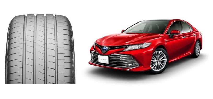 Toyota Camry нового поколения поедет на шинах Bridgestone Turanza T005A