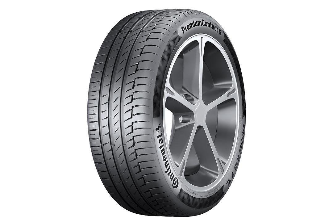 Двойной триумф шин Continental PremiumContact 6 в области промышленного дизайна