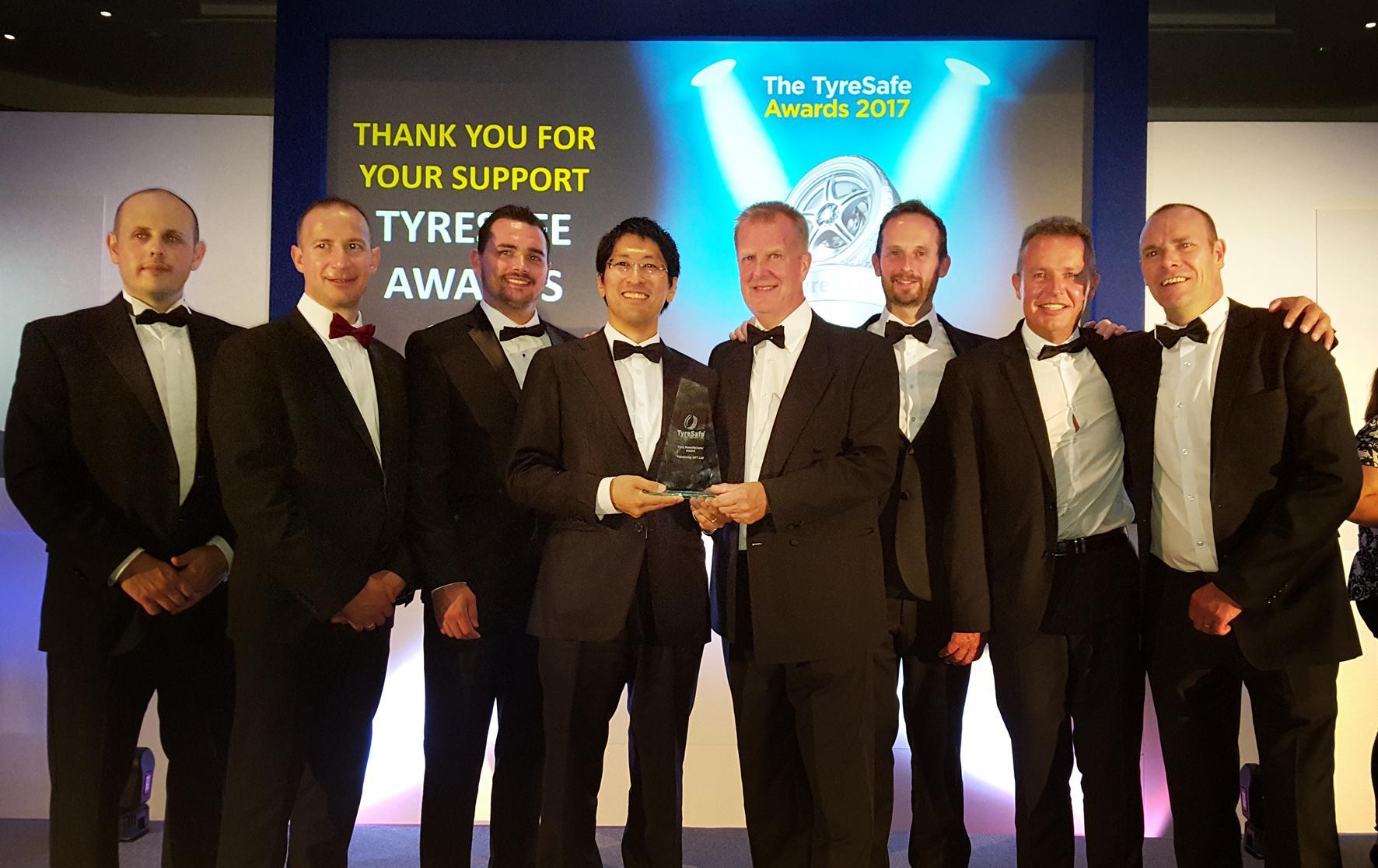 Yokohama награждена премией TyreSafe Awards 2017 за работу с болельщиками «Челси»