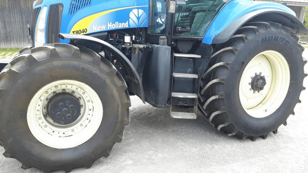 Алтайские тракторные шины NorTec протестируют на полях Германии