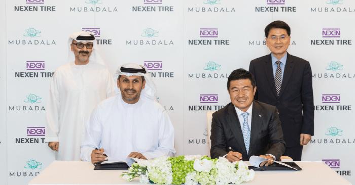 Арабский фонд Mubadala инвестирует в Nexen Tire