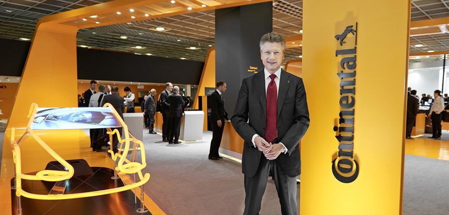 В первом полугодии прибыль Rubber Group компании Continental снизилась на €300 млн
