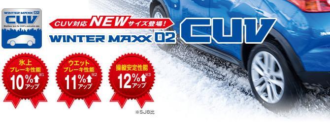 Dunlop Winter Maxx 02 CUV - зимняя новинка от Sumitomo для кроссоверов