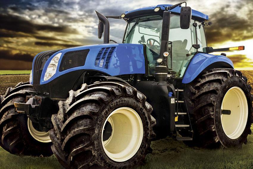 New Holland выбрала для своих новых тракторов Т8 шины линейки Goodyear LSW Super Single