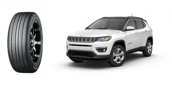 Yokohama начала поставки OE-шин Geolandar для заводской комплектации Jeep Compass