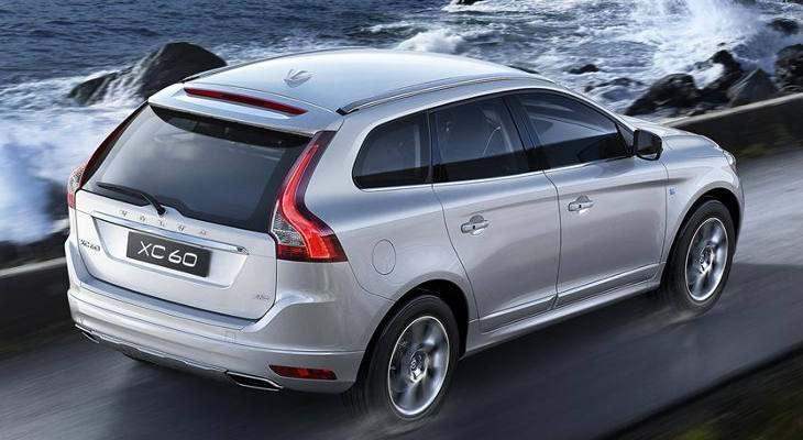 Volvo выбрала три модели шин Continental для нового XС60