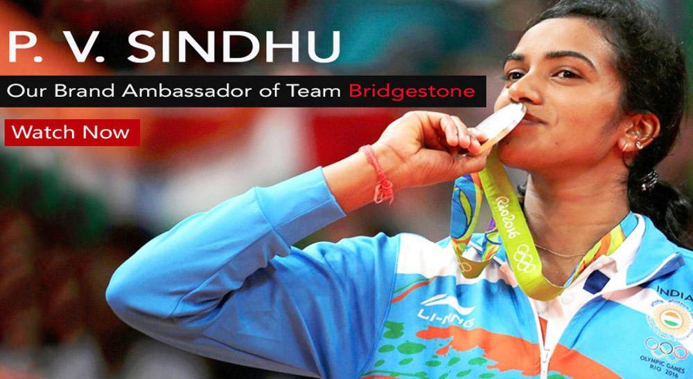 Знаменитая бадминтонистка Пурсала Синдху стала послом бренда Bridgestone в Индии