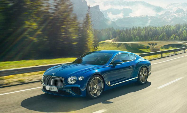 Новая версия Pirelli P Zero для нового поколения Bentley Continental GT