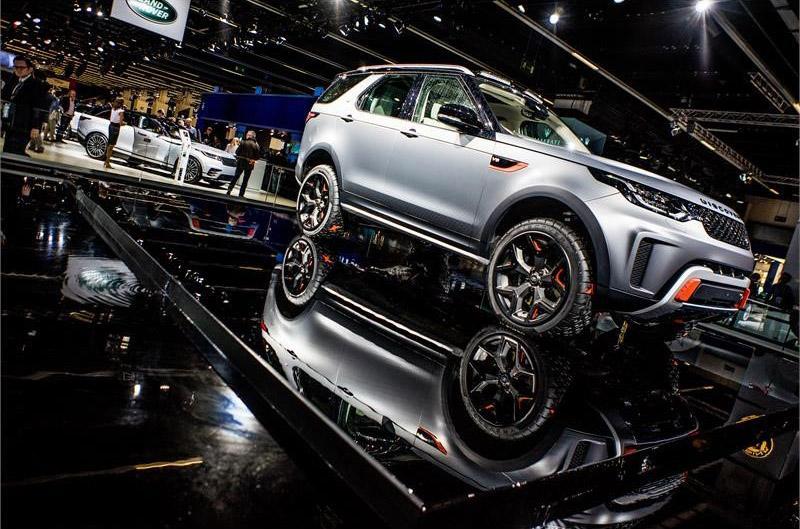 Goodyear подготовил эксклюзивные шины для Land Rover Discovery SVX
