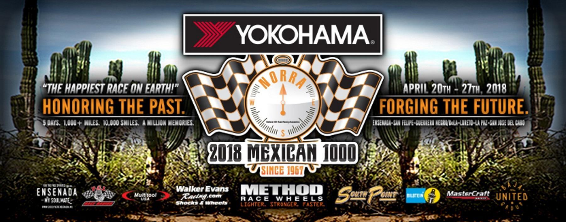 Yokohama использует гонку Mexican 1000 для продвижения новой шины Geolandar M/T G003