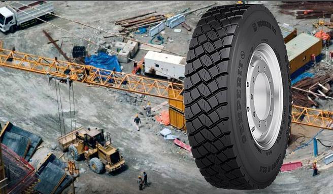 Грузовая шина Semperit Worked D2 - надежность и долговечность от австрийского бренда
