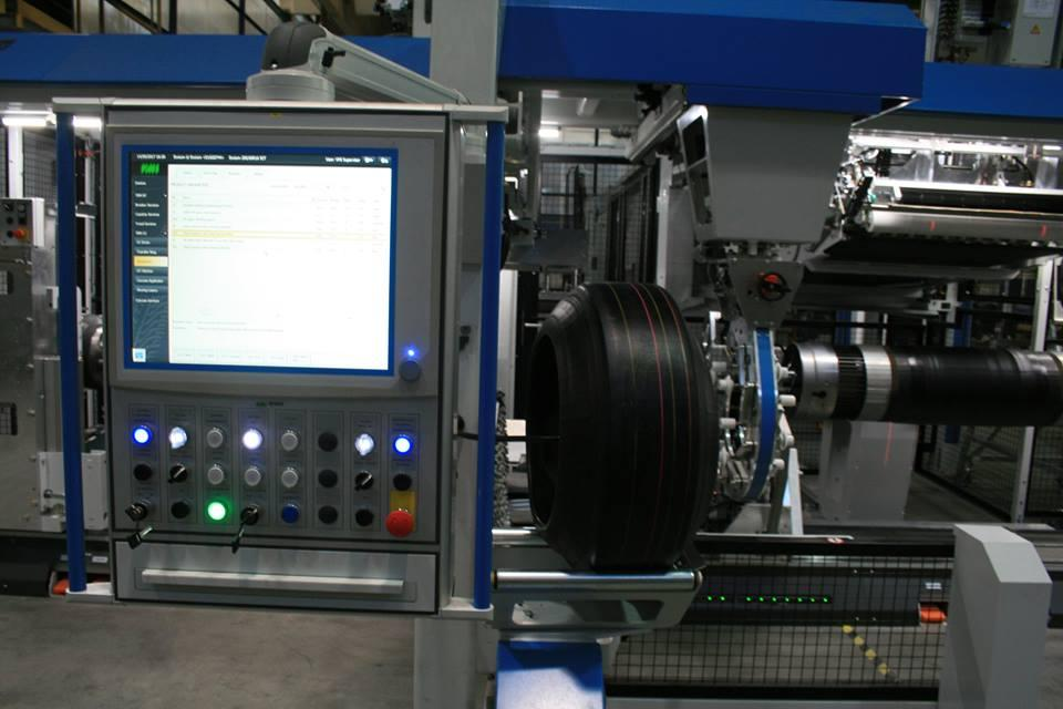 На «Росаве» пущен в эксплуатацию новый шиносборочный комплекс голландского производства