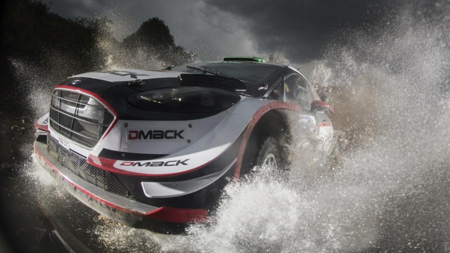 DMACK разработала шины для трех последних гонок WRC 2017
