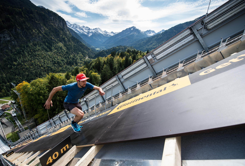 Технологии Continental помогли установить мировой рекорд по скоростному  бегу в гору