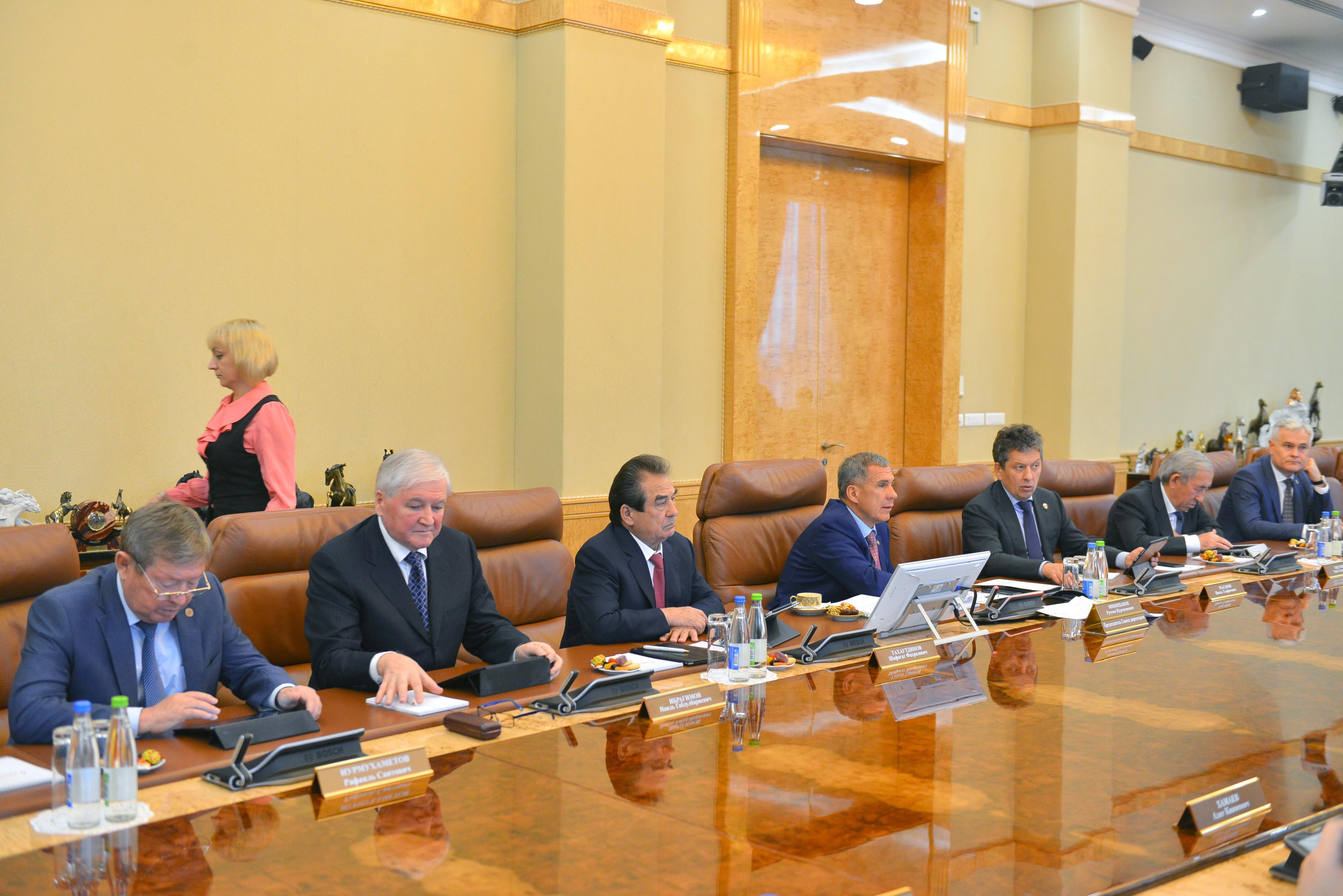 Совет директоров ПАО «Татнефть» обсудил стратегию развития шинного бизнеса