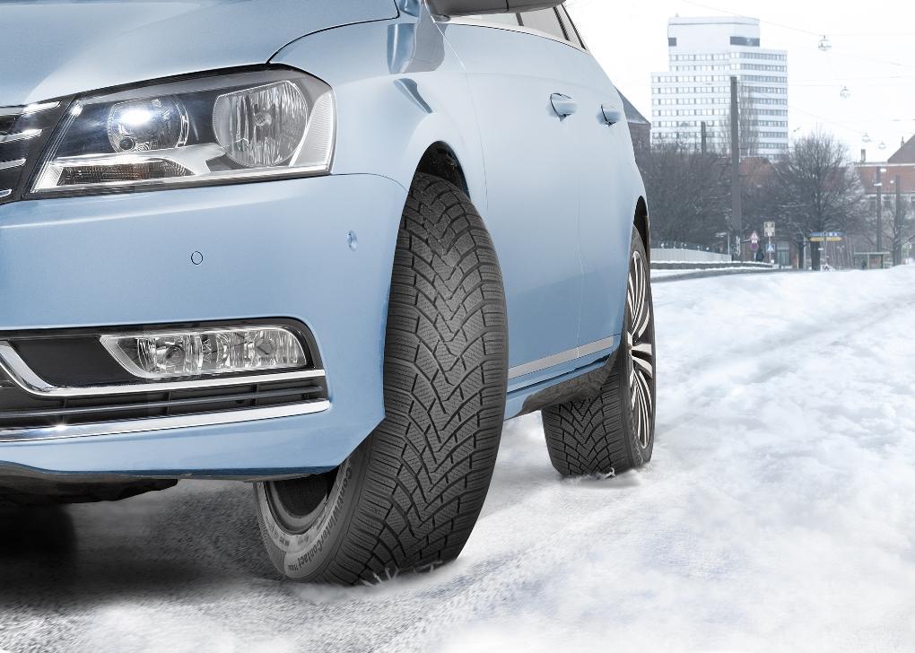 Зимние шины Continental  удерживают лидирующие позиции в тестах ведущих автоизданий