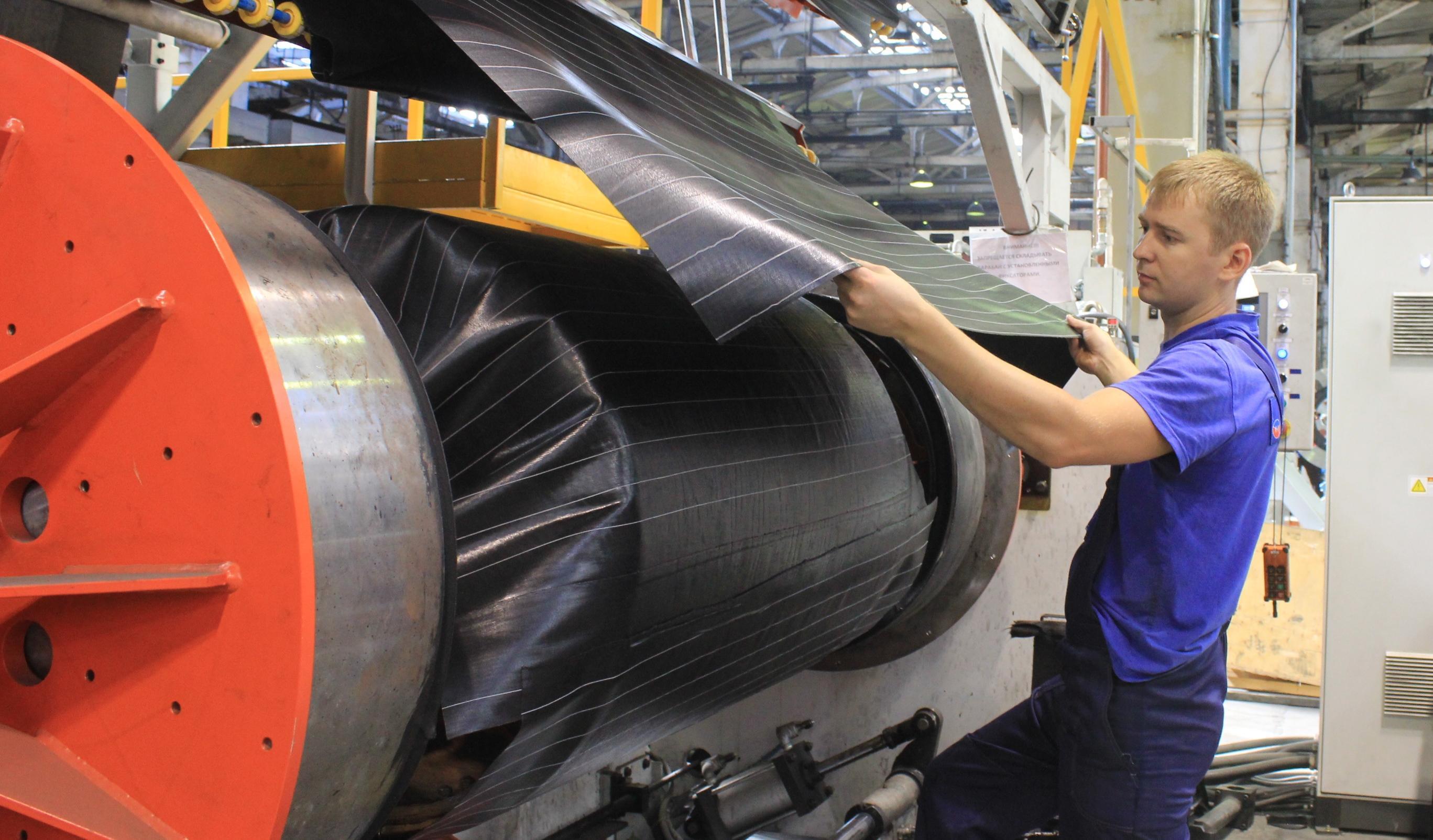 «Волтайр-Пром» наращивает производство и осваивает выпуск новых типоразмеров шин