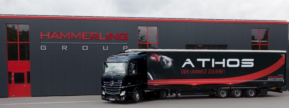Hämmerling Group продала один миллион грузовых шин своего бренда Athos