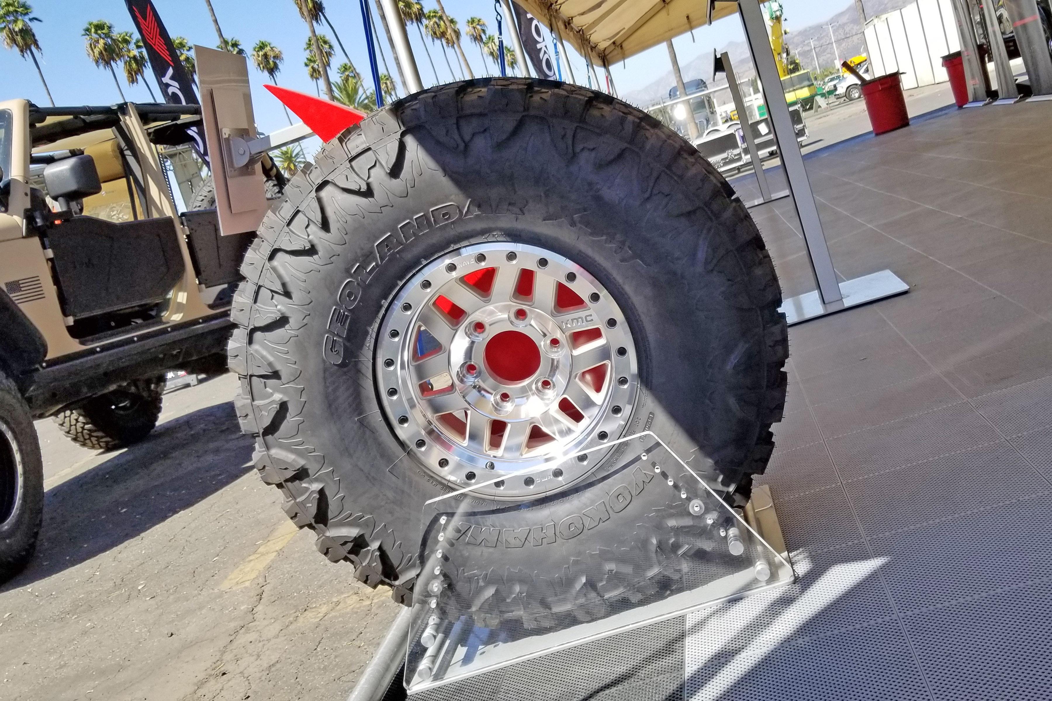 Yokohama готовит мировую премьеру шины Geolandar X-MT для экстремального бездорожья