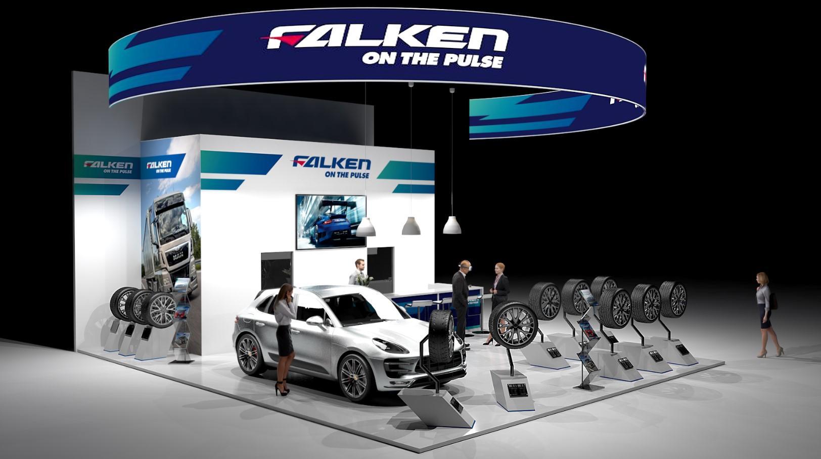 Бренд Falken дебютирует на выставке EQUIP AUTO 2017 с новыми летними шинами