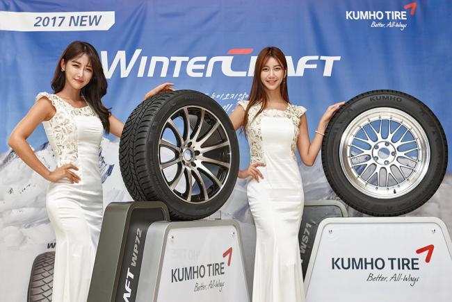 Kumho расширяет линейку зимних шин WinterCraft