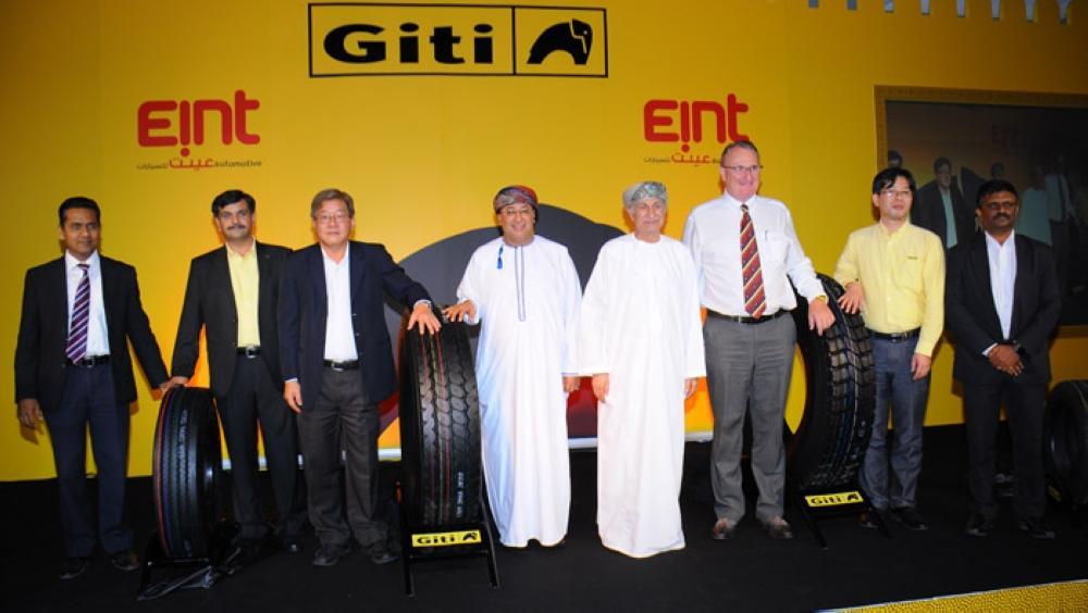 В Омане прошла презентация шинного бренда Giti