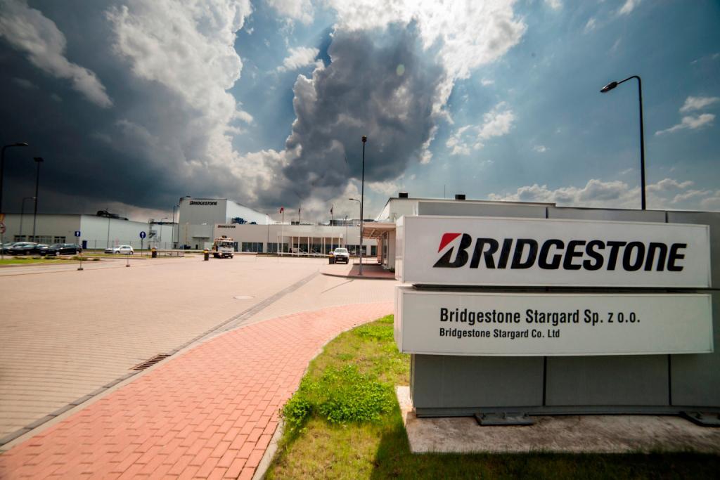 Европейские заводы Bridgestone повысят свою мощность на 20 процентов