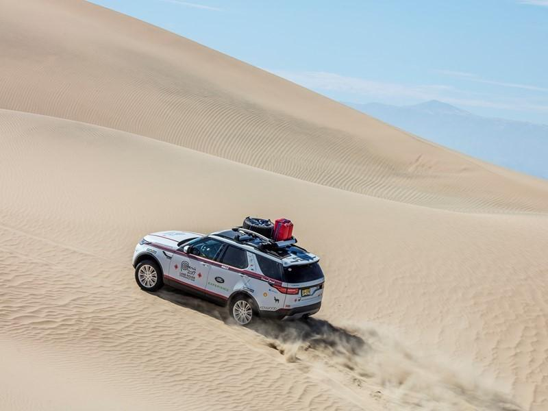 Goodyear обеспечит авторезиной экспедицию Land Rover Experience Tour 2017