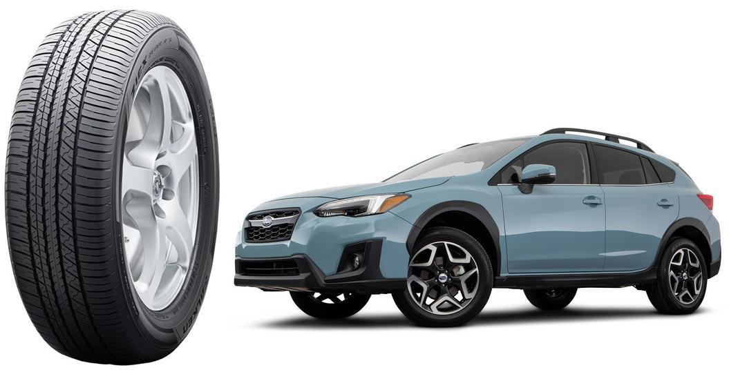 В Северную Америку Subaru Crosstrek приедет на шинах  Falken