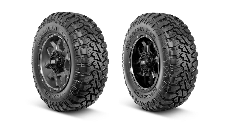 Двусторонняя грязевая шина Nexen Roadian MTX готовится к дебюту в Лас-Вегасе