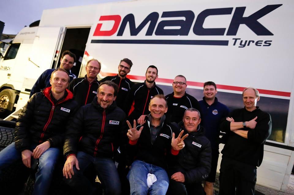 DMACK Tyres прервала победную серию Michelin в Мировом ралли