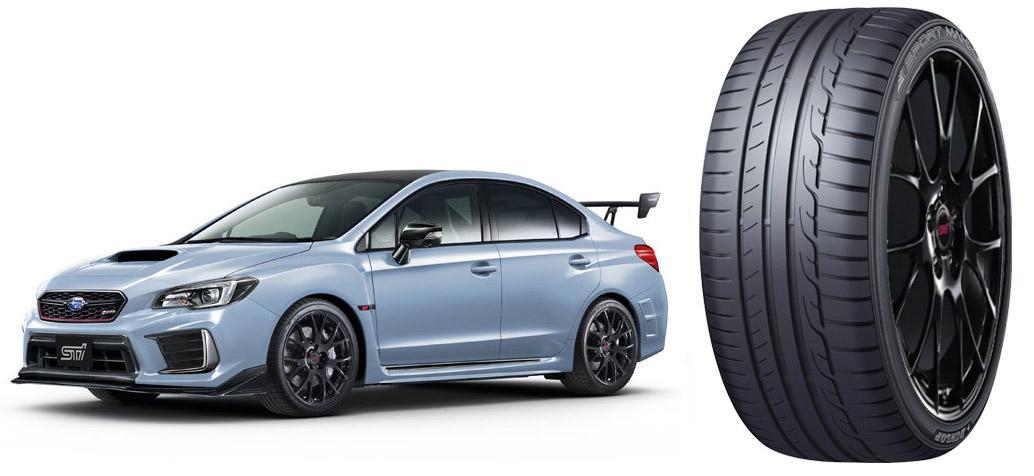 Новую версию Subaru WRX STI S208 оснастят покрышками Dunlop Sport Maxx RT