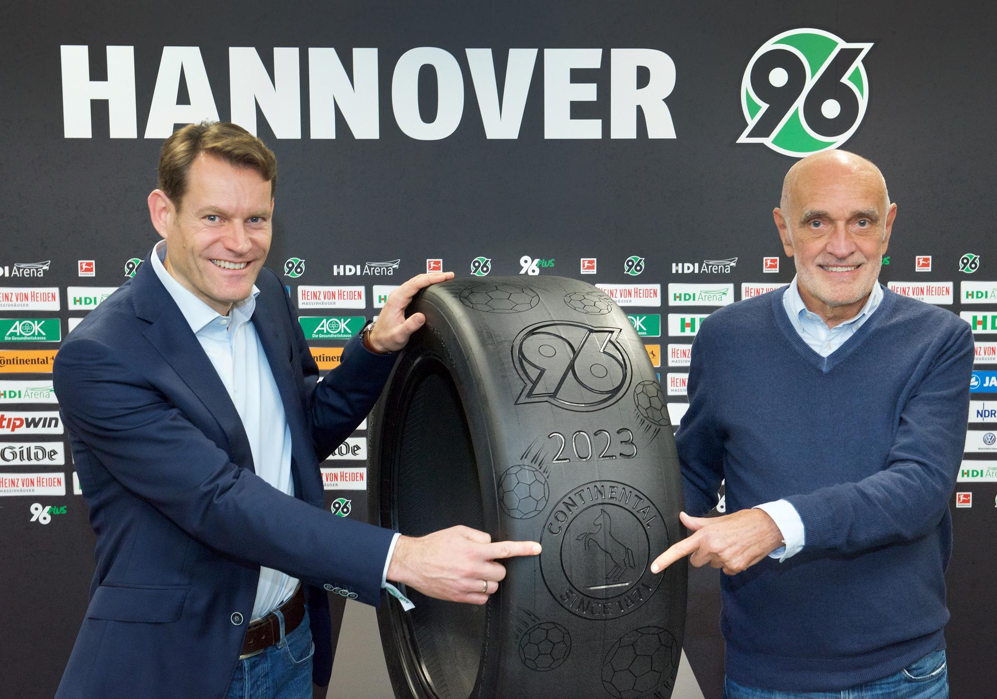 Continental продлил спонсорское соглашение с «Ганновером 96»