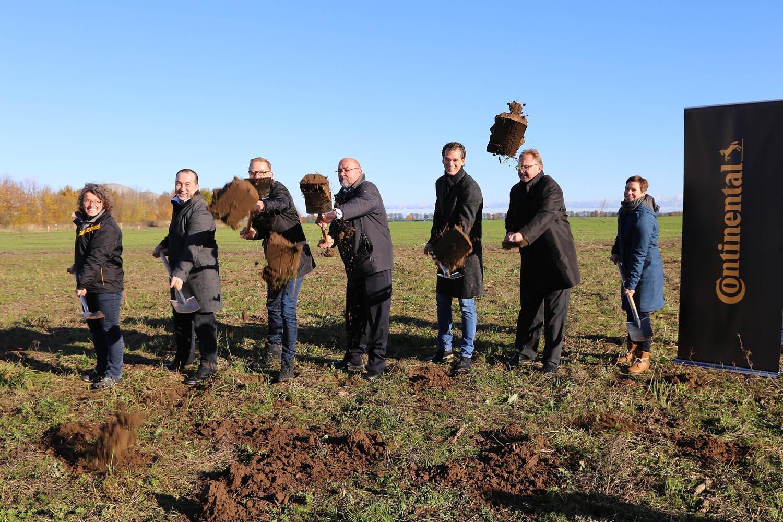 Continental начинает строительство лаборатории Taraxagum в Германии