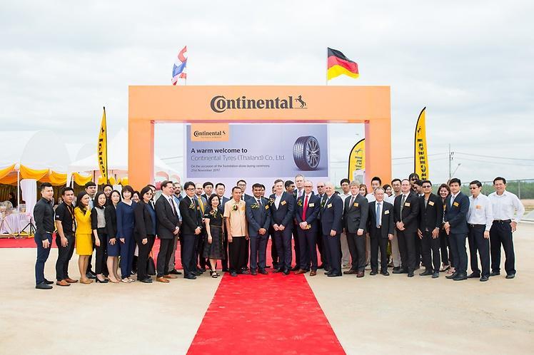 В Таиланде заложили первый камень в фундамент будущего завода Continental