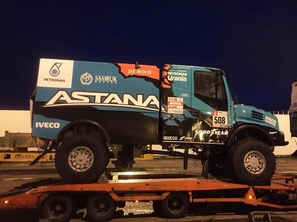 Артур Ардавичус о выборе грузовых покрышек для ралли-марафона