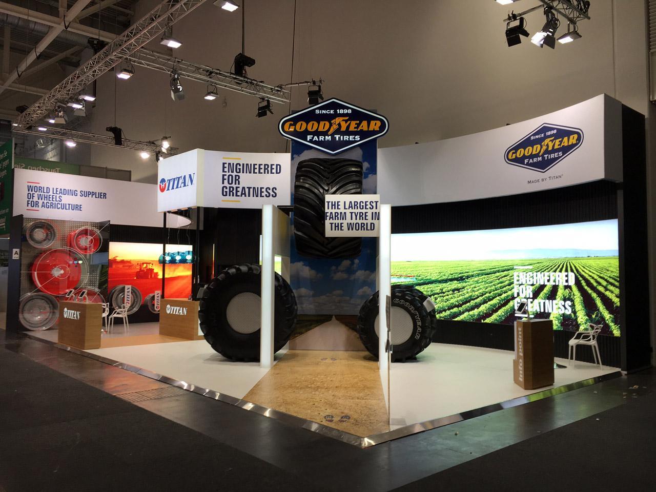 «Волтайр-Пром» представил на выставке в Ганновере новые шины для комбайнов