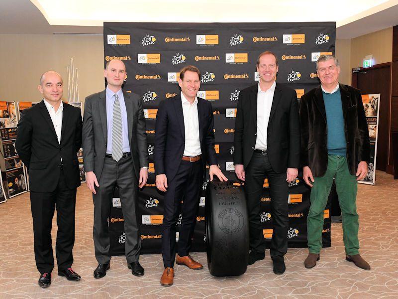 Концерн Continental стал официальным партнером велогонки Tour de France