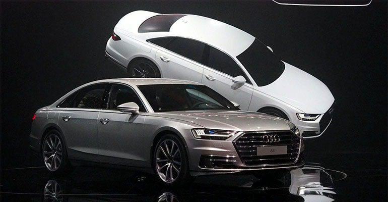 Audi выбрала для оснащения новых A8 летние и зимние OE-шины Goodyear